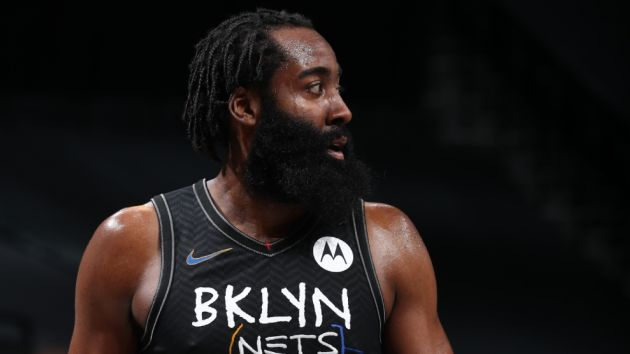 James Harden Meets Courtside with Lil Baby and 42 Dugg Following Nets Win