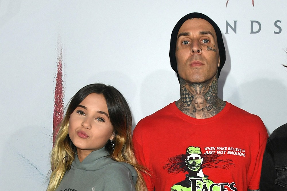 Watch Travis Barker's Daughter Cover His Face Tattoos With Makeup