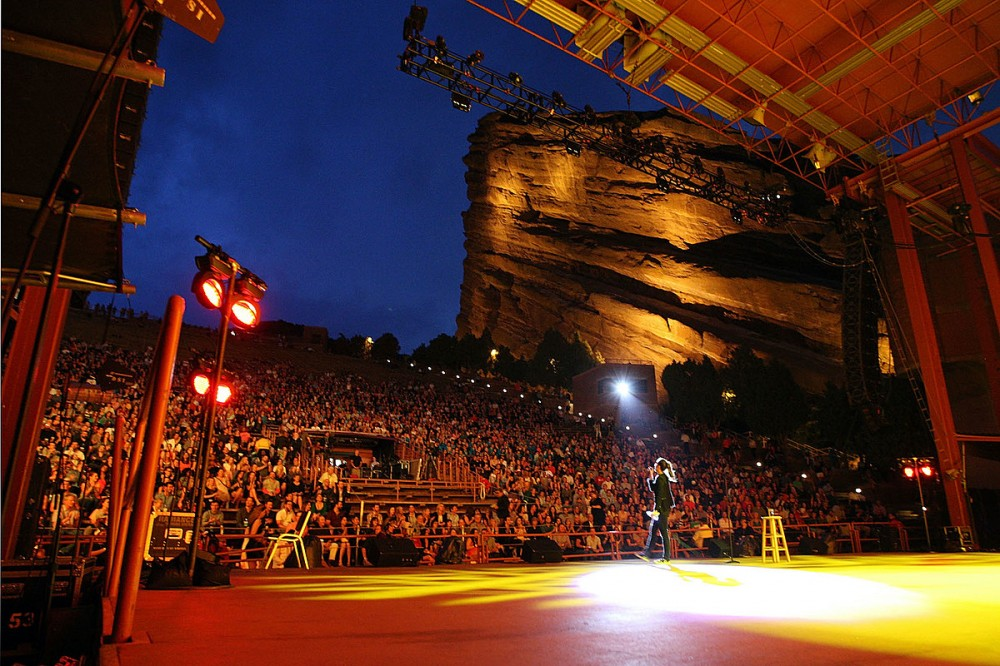 Colorado's Red Rocks Amphitheatre To Reopen at Limited Capacity This Spring