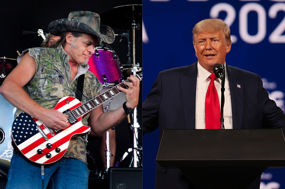 Ted Nugent Says Donald Trump Came Up With the Title for His Next Album