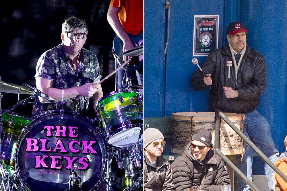 The Black Keys' Patrick Carney to Sub for Cleveland Indians Drum Legend at Home Opener