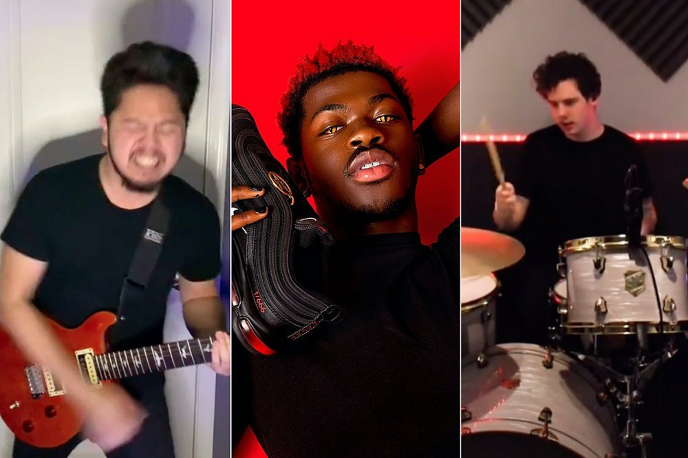 TikTok Rockers Convince Lil Nas X To Do Metal Version of the Rapper's 'Montero'
