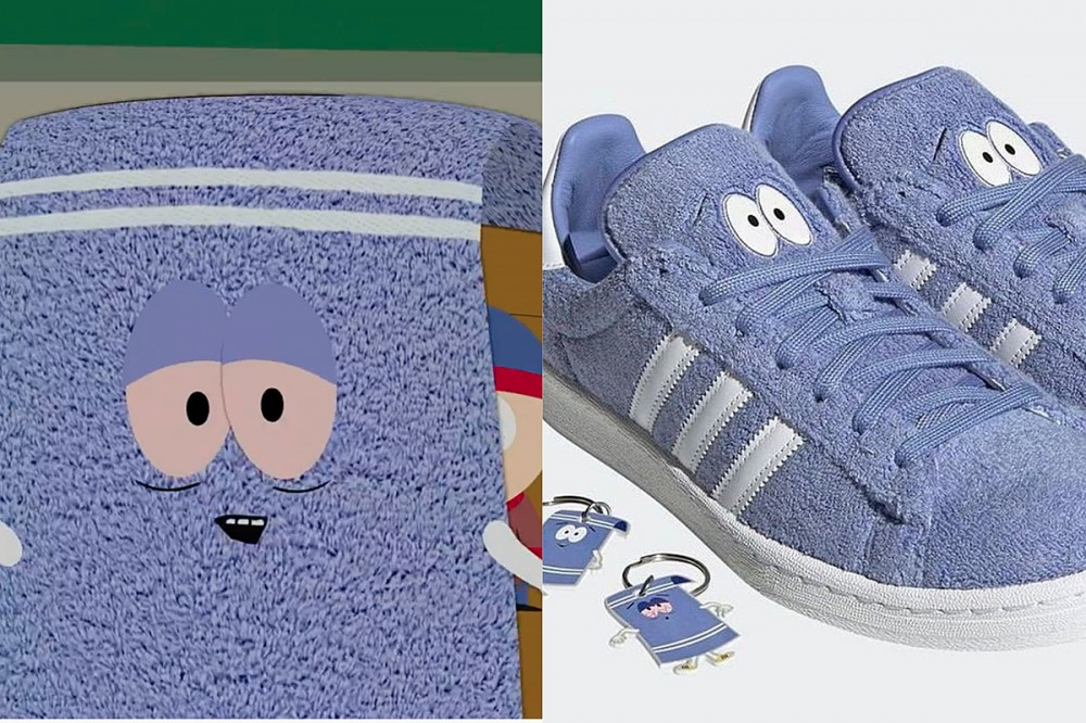 Of Course Adidas' 'South Park' Towelie Sneakers Have a Hidden Stash Pocket
