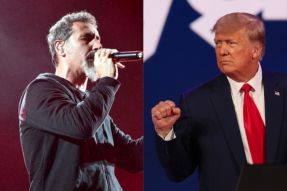 System of a Down's Serj Tankian – The Whole World Felt Relief When Trump Lost