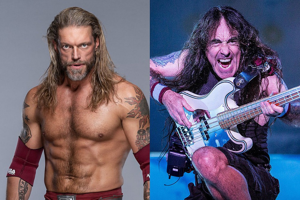 WWE's Edge Reveals Votes for Rock and Roll Hall of Fame, Predicts Iron Maiden May Get Snubbed