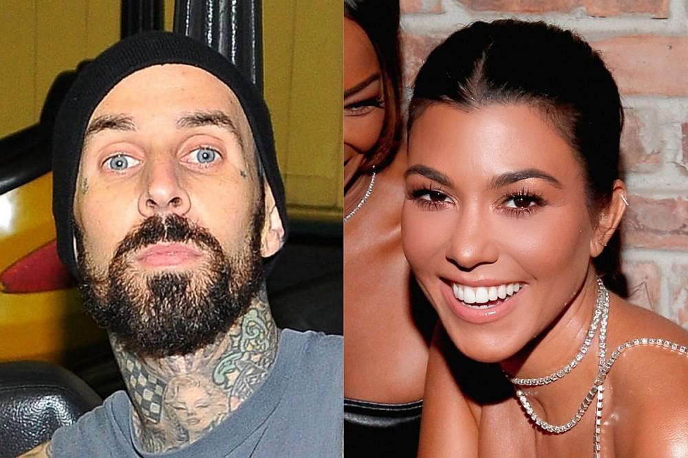 Travis Barker Got Kourtney Kardashian's Name Tattooed On His Chest