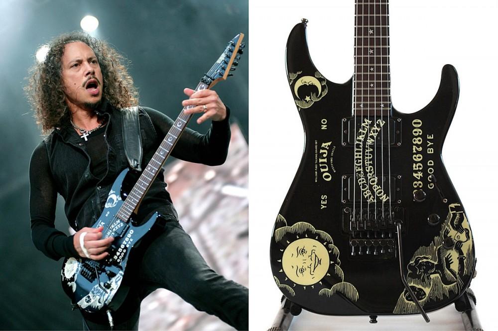 Metallica's Kirk Hammett Is Now Auctioning Off His Custom ESP Ouija Guitar