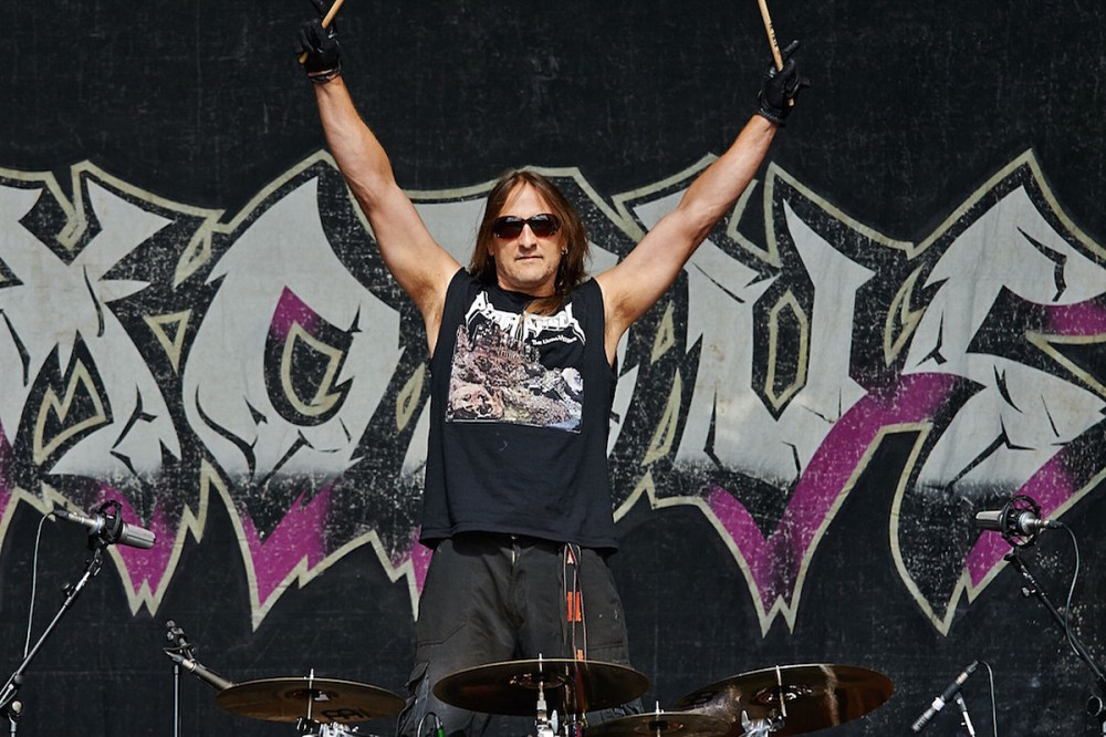 Exodus Drummer Tom Hunting Diagnosed With Squamous Cell Carcinoma