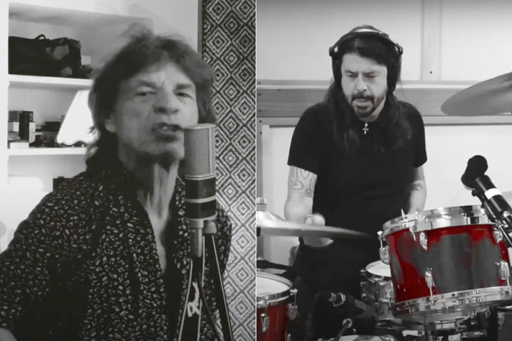 Mick Jagger + Dave Grohl Unite on New Song 'Easy Sleazy'