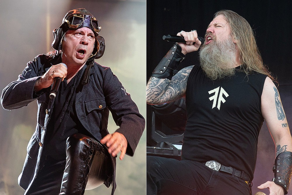 Iron Maiden Collaborate With Amon Amarth in 'Legacy of the Beast' Mobile Game