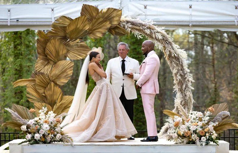 Jeezy and Jeannie Mai Host Their Wedding at Their Atlanta Home