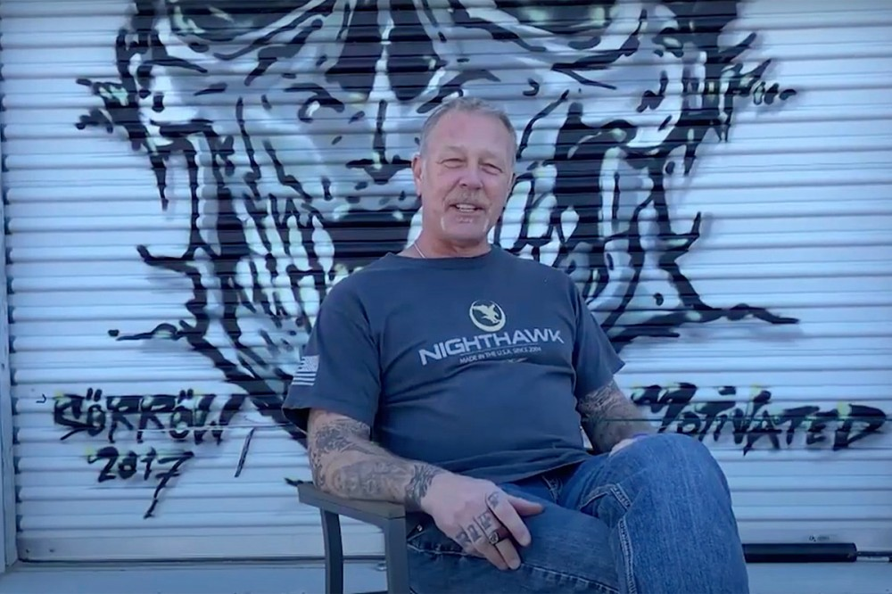 Metallica's James Hetfield – 'I'm Here as an Example of How Music Has Saved Lives'