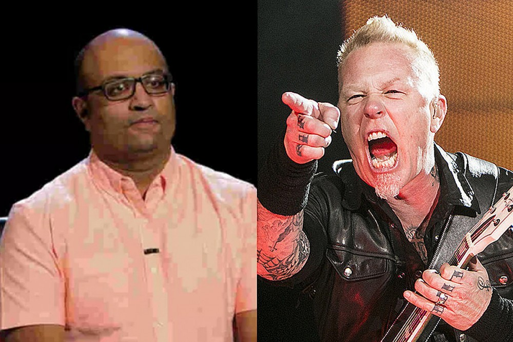 Game Show Contestant Nails Category of Metallica Questions