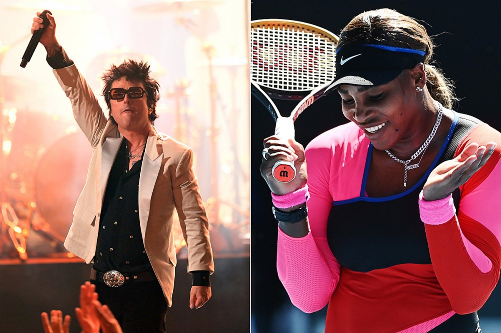 Billie Joe Armstrong Reveals Green Day Superfan Serena Williams' Song Request