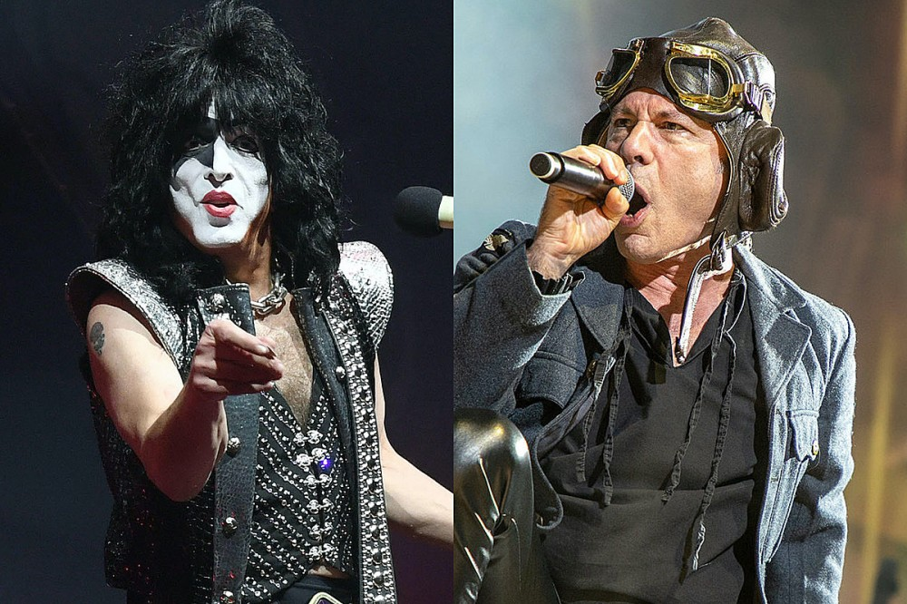 KISS' Paul Stanley – Iron Maiden Not Being in the Rock and Roll Hall of Fame Is 'Insanity'