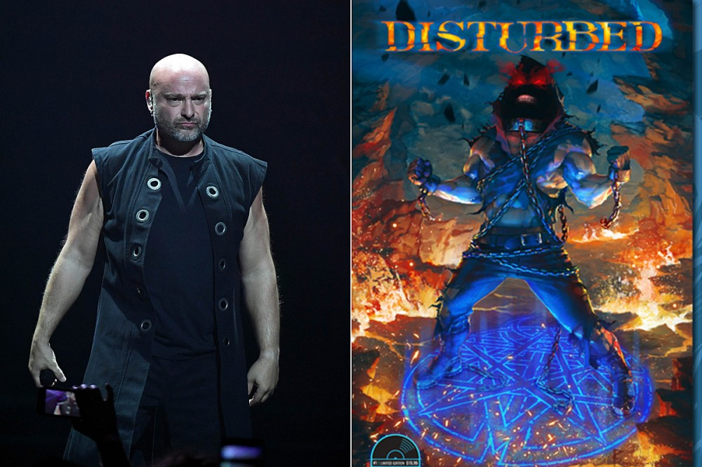 Disturbed Announce 'Dark Messiah' Comic Series + 'The Guy' Action Figure