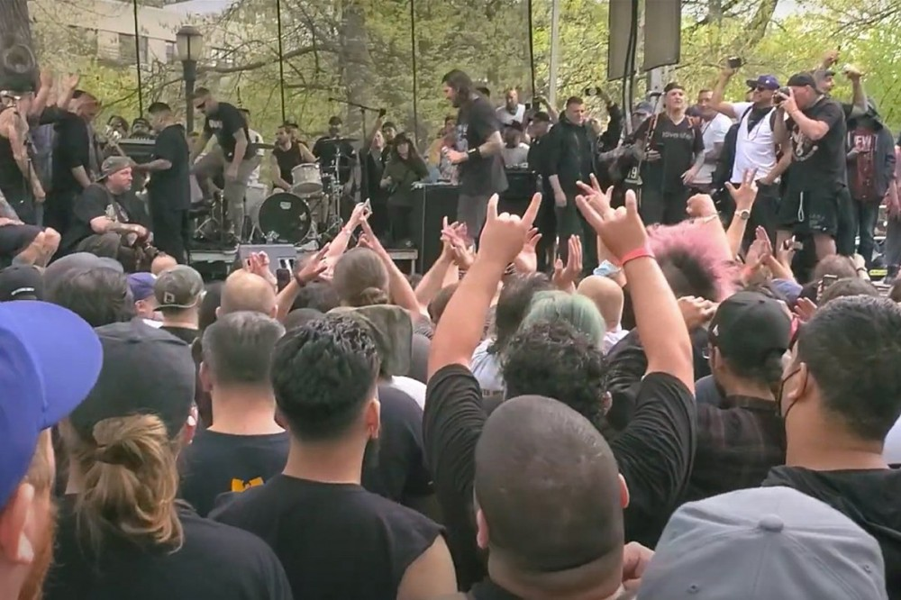 Outdoor NYC Punk Gig Under Investigation for Defying COVID Gathering Guidelines