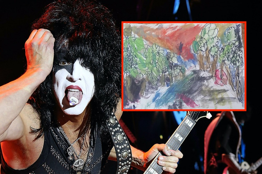 KISS' Paul Stanley Praises Child's Painting After Their Art Teacher Disapproves