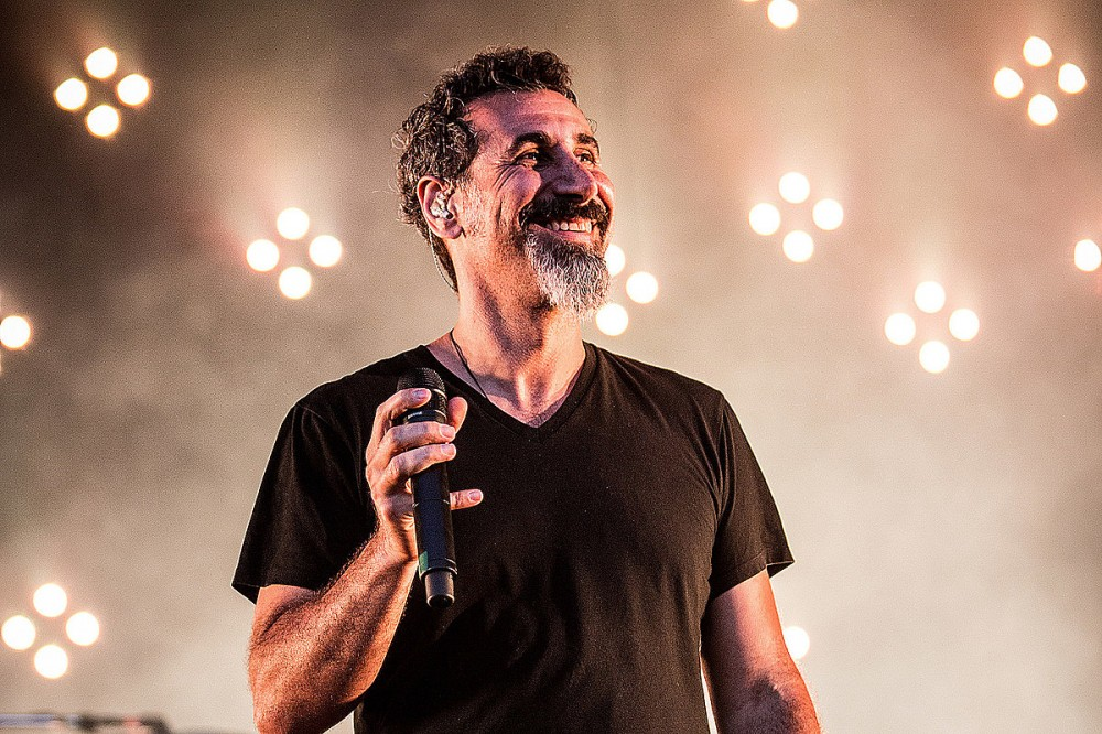 Serj Tankian Has Hope That System of a Down Will 'Do Something Together Again'