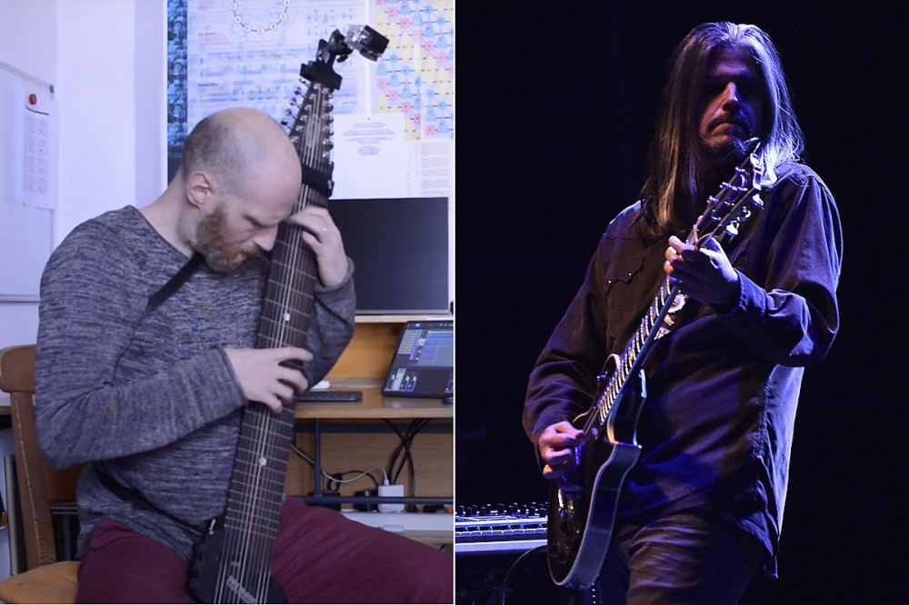 Tool Fan Plays Guitar + Bass Parts of 'Schism' on Chapman Stick
