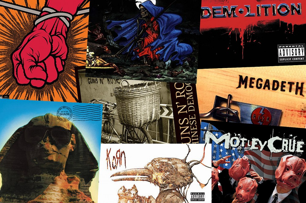 25 Worst Albums by Legendary Metal + Hard Rock Bands