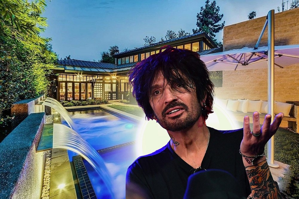 See Inside Tommy Lee's Luxurious New $4.15 Million Los Angeles Home
