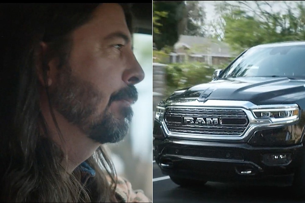Watch the New Foo Fighters-Featuring Ram Trucks Commercial