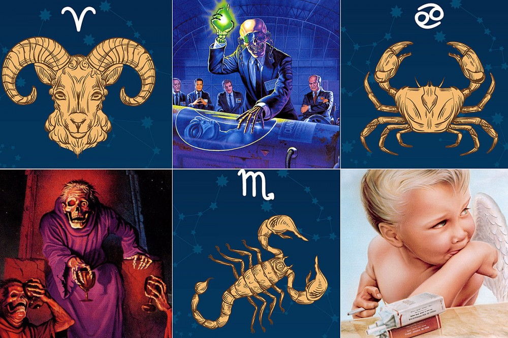 The Perfect Rock or Metal Album for Each Zodiac Sign + Why, by Ben Katzman