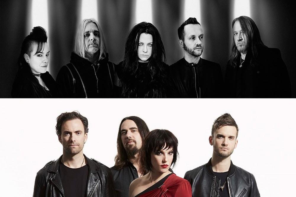 Evanescence + Halestorm Unite for Late 2021 Tour Dates