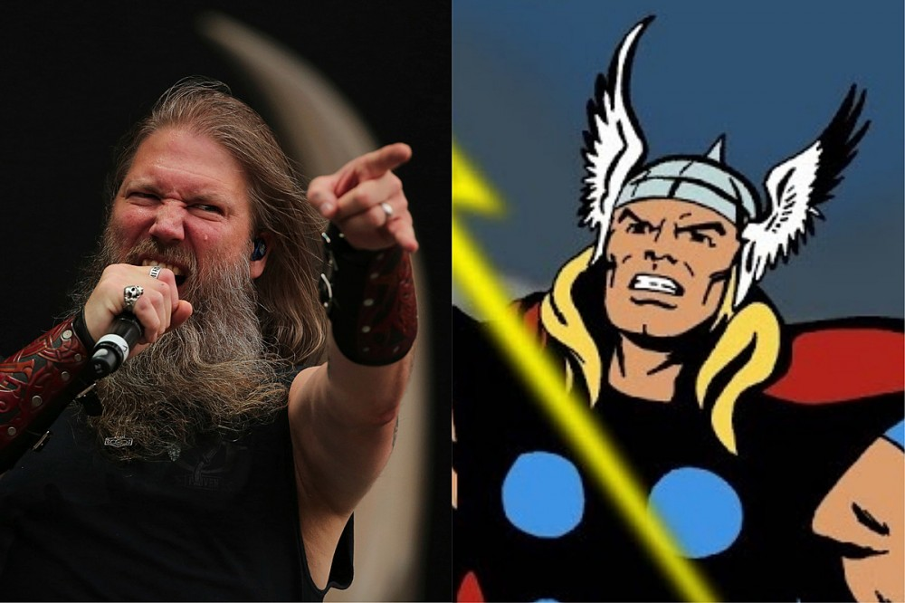 Amon Amarth Get a Nod From Thor in Marvel's 'Heroes Reborn' Comic