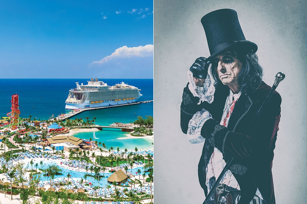 Alice Cooper-Led 2022 Monsters of Rock Cruise Lineup Revealed