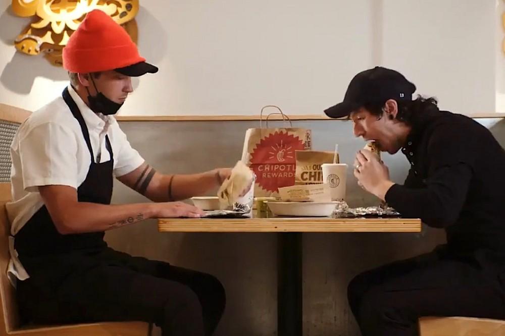 Twenty One Pilots Make Their Own Chipotle Burrito, Literally