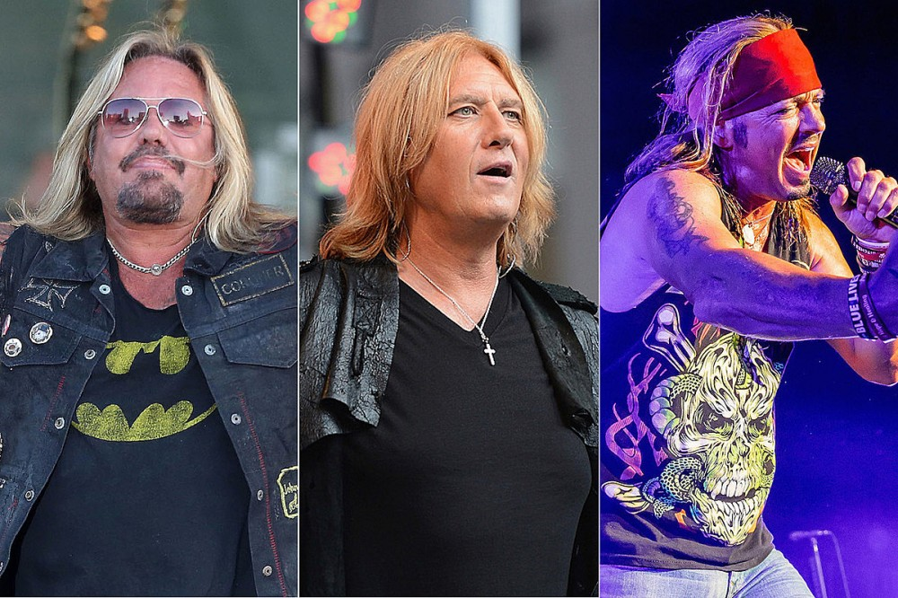 Motley Crue, Def Leppard + Poison Stadium Tour Rescheduled for 2022, New Dates Announced