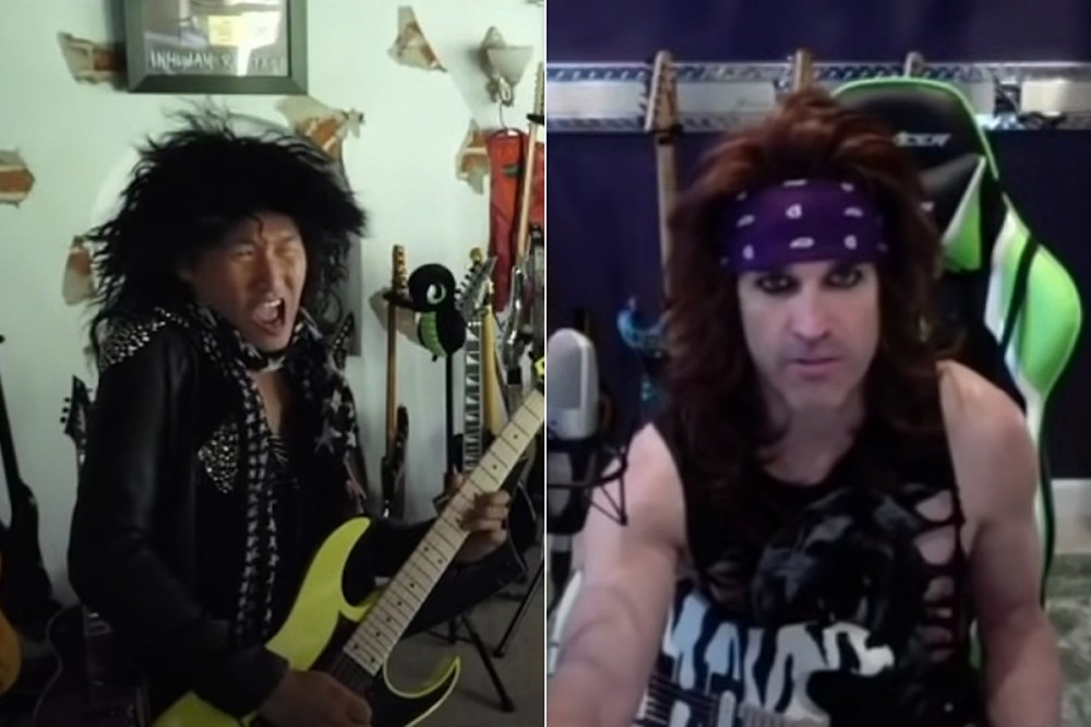 DragonForce's Herman Li 'Auditions' for Steel Panther on Twitch, Satchel Judges