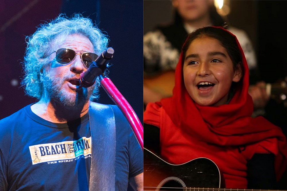 Sammy Hagar Duets With Afghan Child Musicians on 'Fly Like an Eagle' Cover
