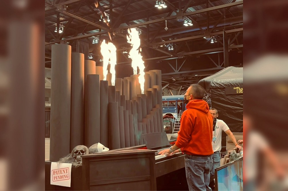 Fire-Shooting Pipe Organ Could Make Church Services Much More Interesting