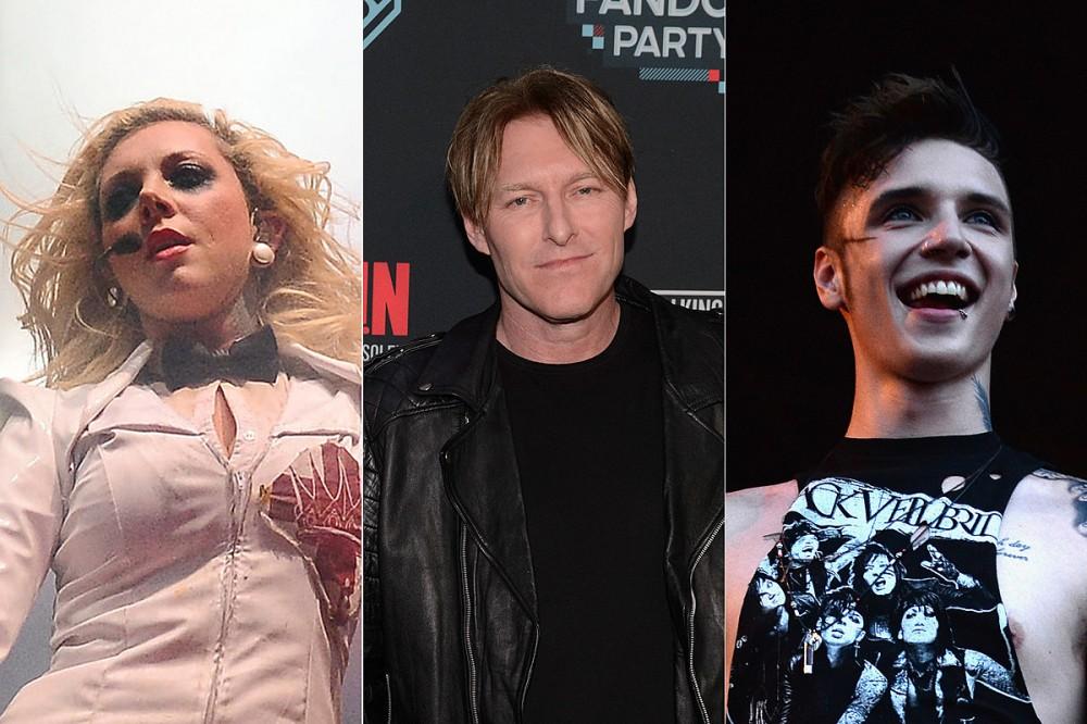 Maria Brink, Tyler Bates + Andy Biersack Team on 'Dark Nights: Death Metal' Song 'Meet Me in the Fire'