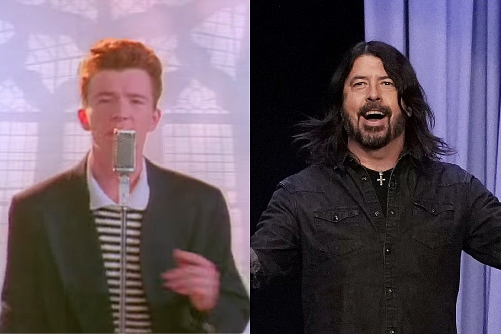 Reverse Rickroll – Rick Astley Mashes Foo Fighters + 'Never Gonna Give You Up'