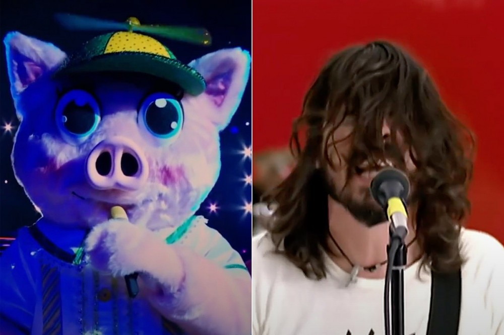 Nick Lachey Got Dave Grohl's Permission to Sing 'The Pretender' on 'The Masked Singer'