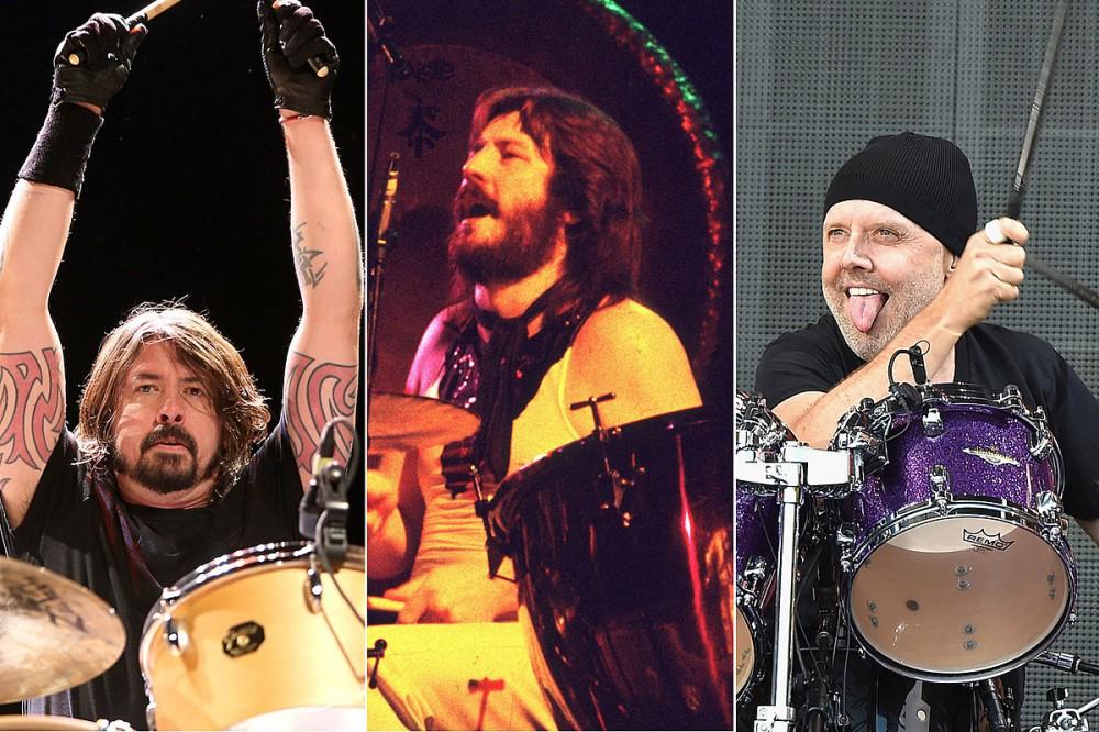 23 Rock + Metal Drummers Influenced by John Bonham