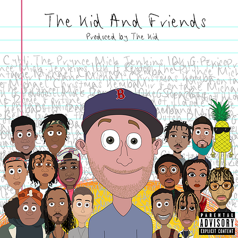 The Kid Inserts A Dozen Collaborations In The Epic Album The Kid and Friends