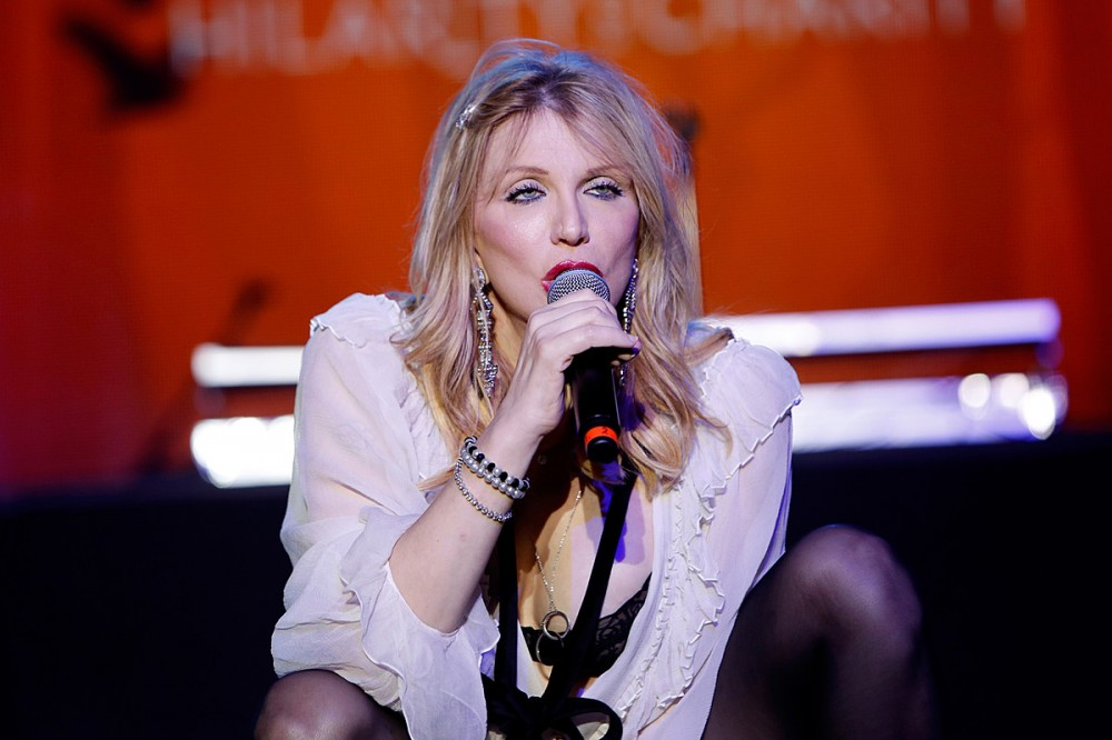 Courtney Love Says 'Absolutely Not' to Hole Reunion, Debuts New Song