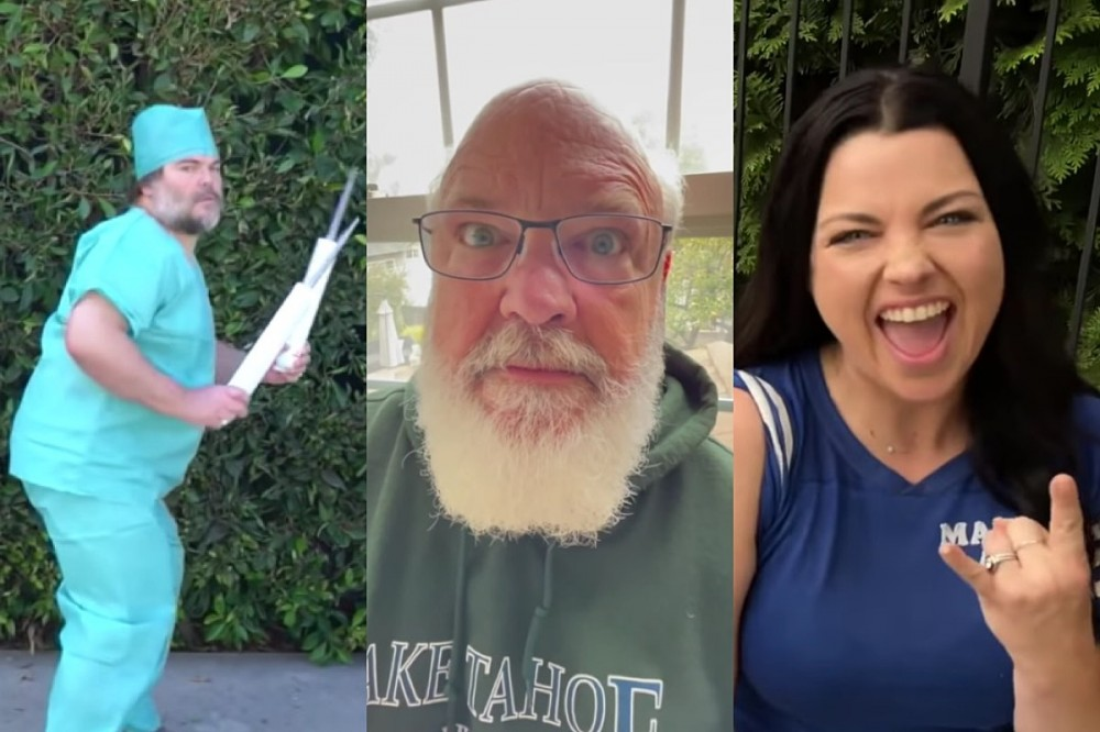 Tenacious D's Kyle Gass Rounds Up Jack Black, Amy Lee + More for 'Vaccinated'