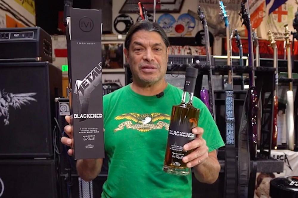 Metallica Announce New 'Black Album'-Enhanced Batch of BLACKENED Whiskey