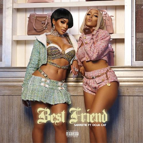 "Saweetie and Doja Cat ""Best Friend"" RIAA Certified Platinum"