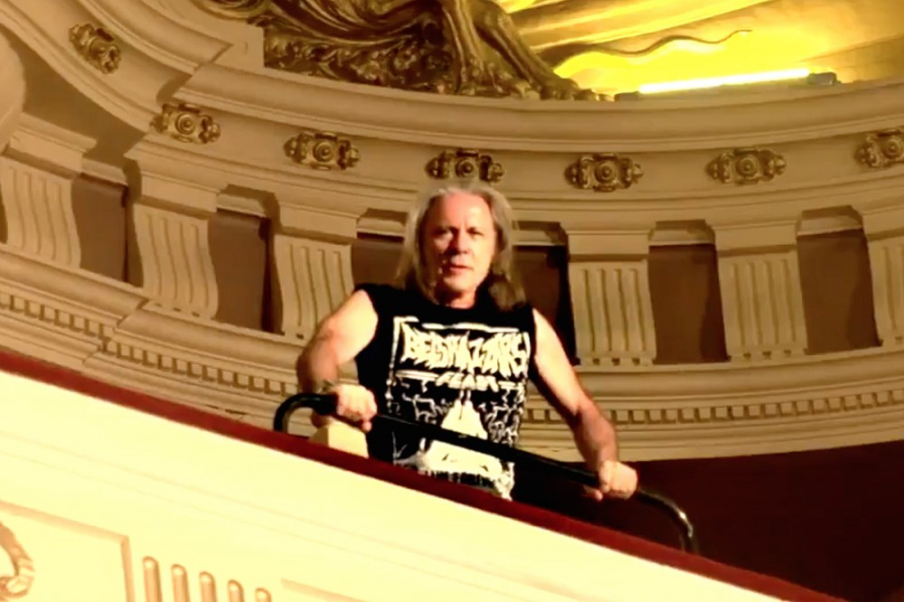 Bruce Dickinson Invites Iron Maiden Fans to 'Belshazzar's Feast' in New Video