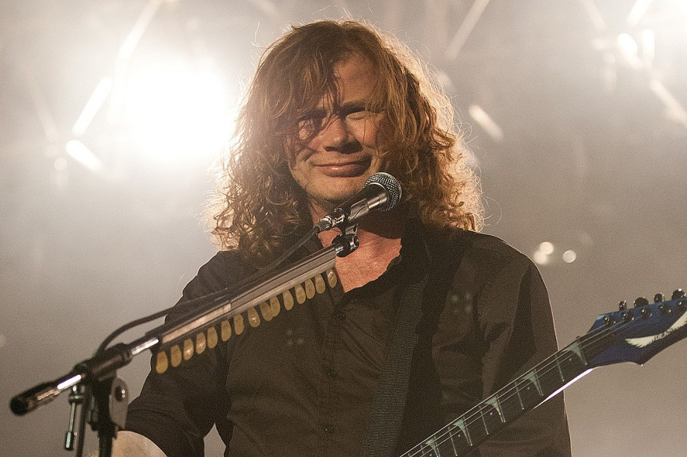 Dave Mustaine Shows Megadeth 'Mystery Bassist' for First Time in Cameo Video