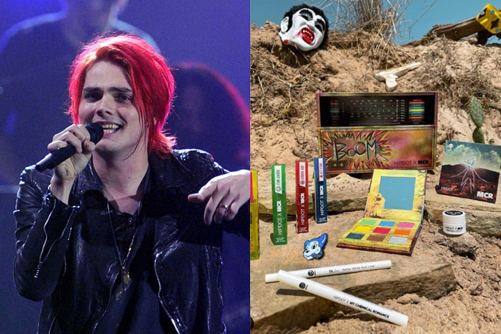 My Chemical Romance Team With HipDot for 'Danger Days' Makeup Palette