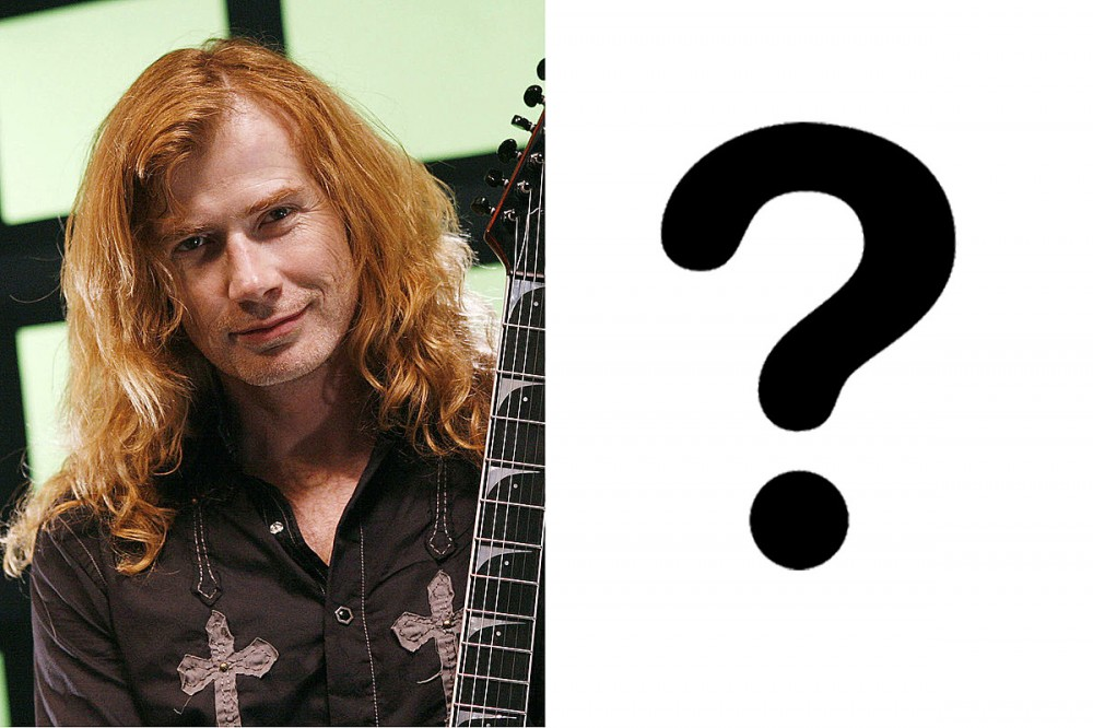 Megadeth Fans Are Speculating Who Their 'Mystery Bassist' Is