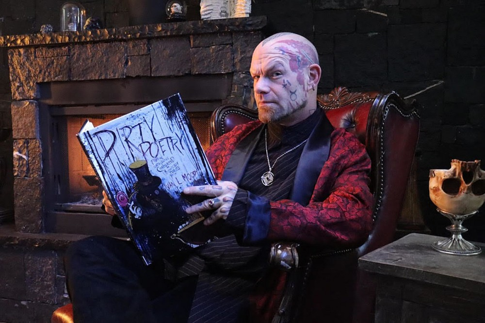 Five Finger Death Punch's Ivan Moody Announces Illustrated 'Dirty Poetry' Book